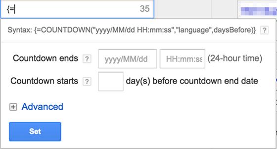 google-countdown