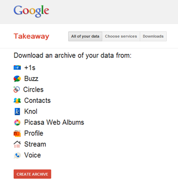 Google Plus Takeaway