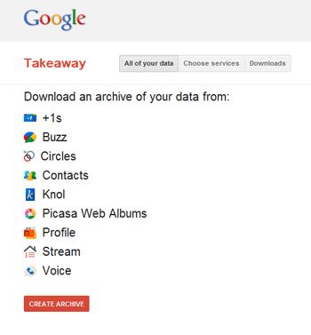 Google Plus Takeaway