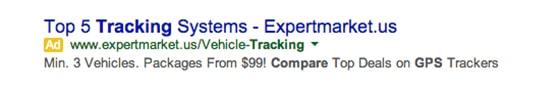 googlead gps