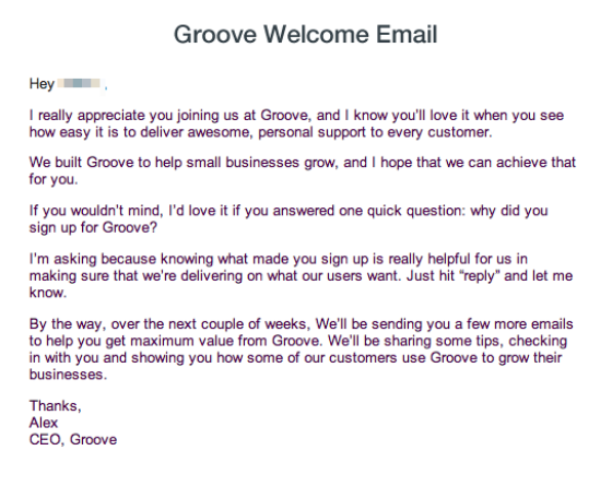 groove-welcome-email