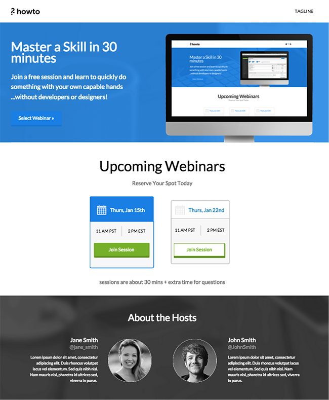 how-to-webinar-template-unbounce