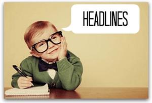 how to write the perfect headline