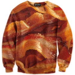 the bacon crewneck