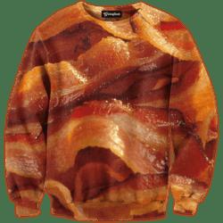 the bacon crewneck