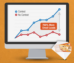 increase email leads by 700 Percent