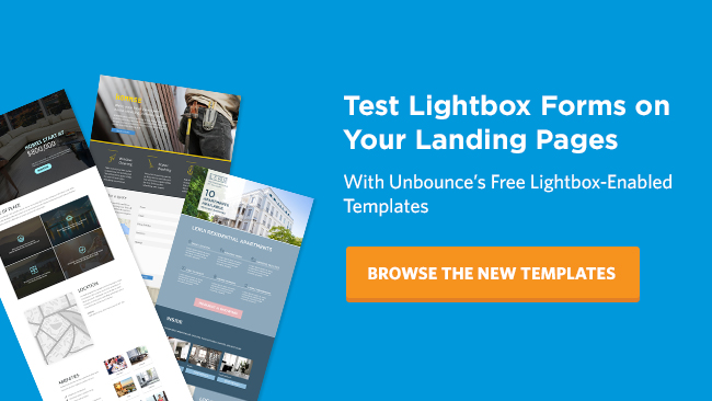 the silent landing page conversion killer (and how to stop it)examine your own pages for potential lightbox opportunities start by reviewing your existing landing