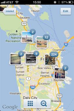 instagram location services