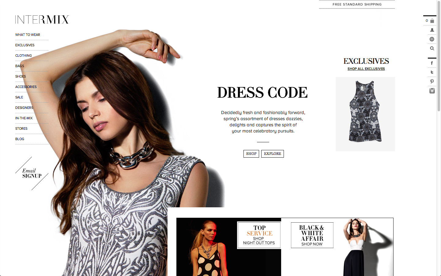 Looks - Launches intermix first ad campaign video