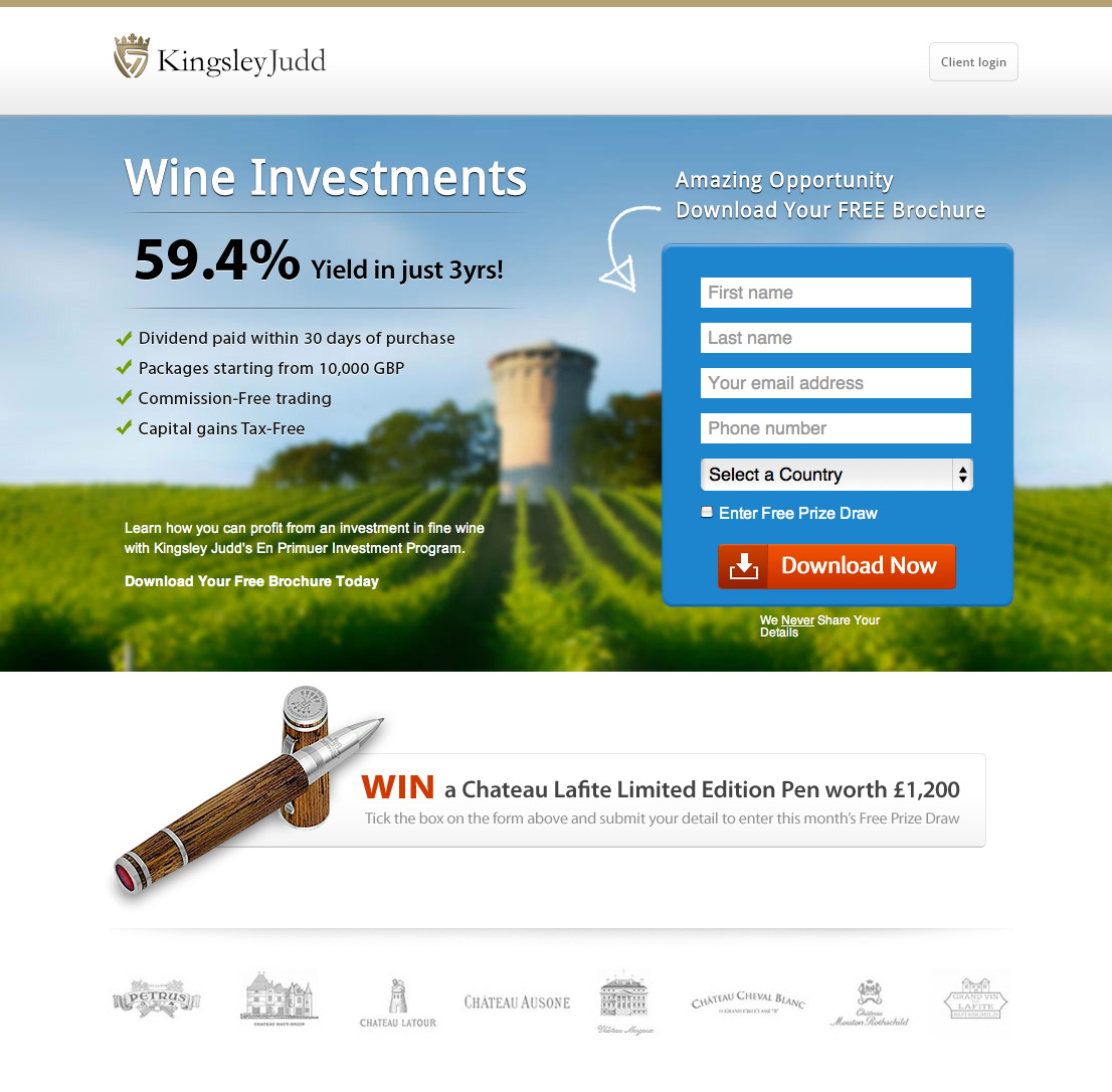 great landing pages - Akba.greenw.co