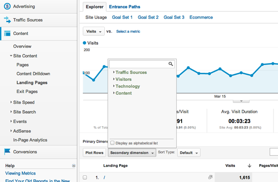 landing-page-analytics-dimensions