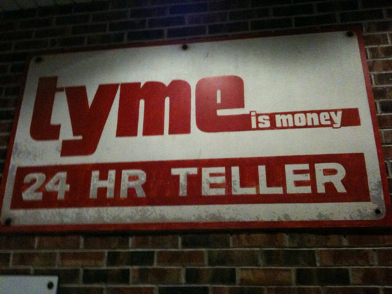 tyme machine