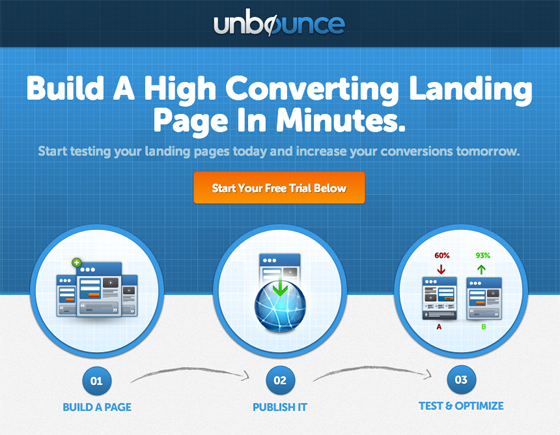 landing page message match