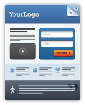 landing page template examples