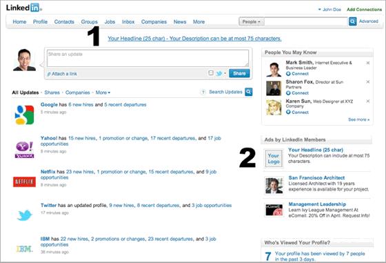 LinkedIn Pay Per Click Advertising