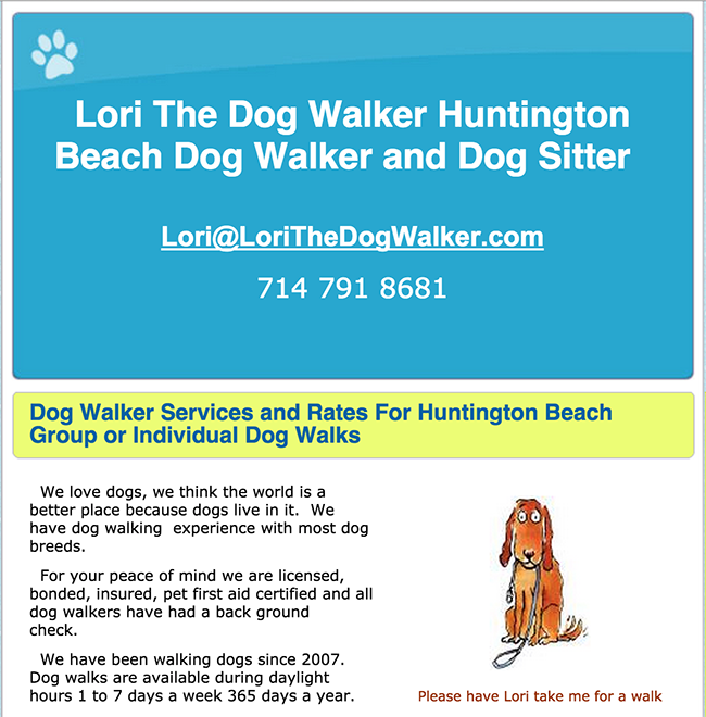 lori-the-dog-walker
