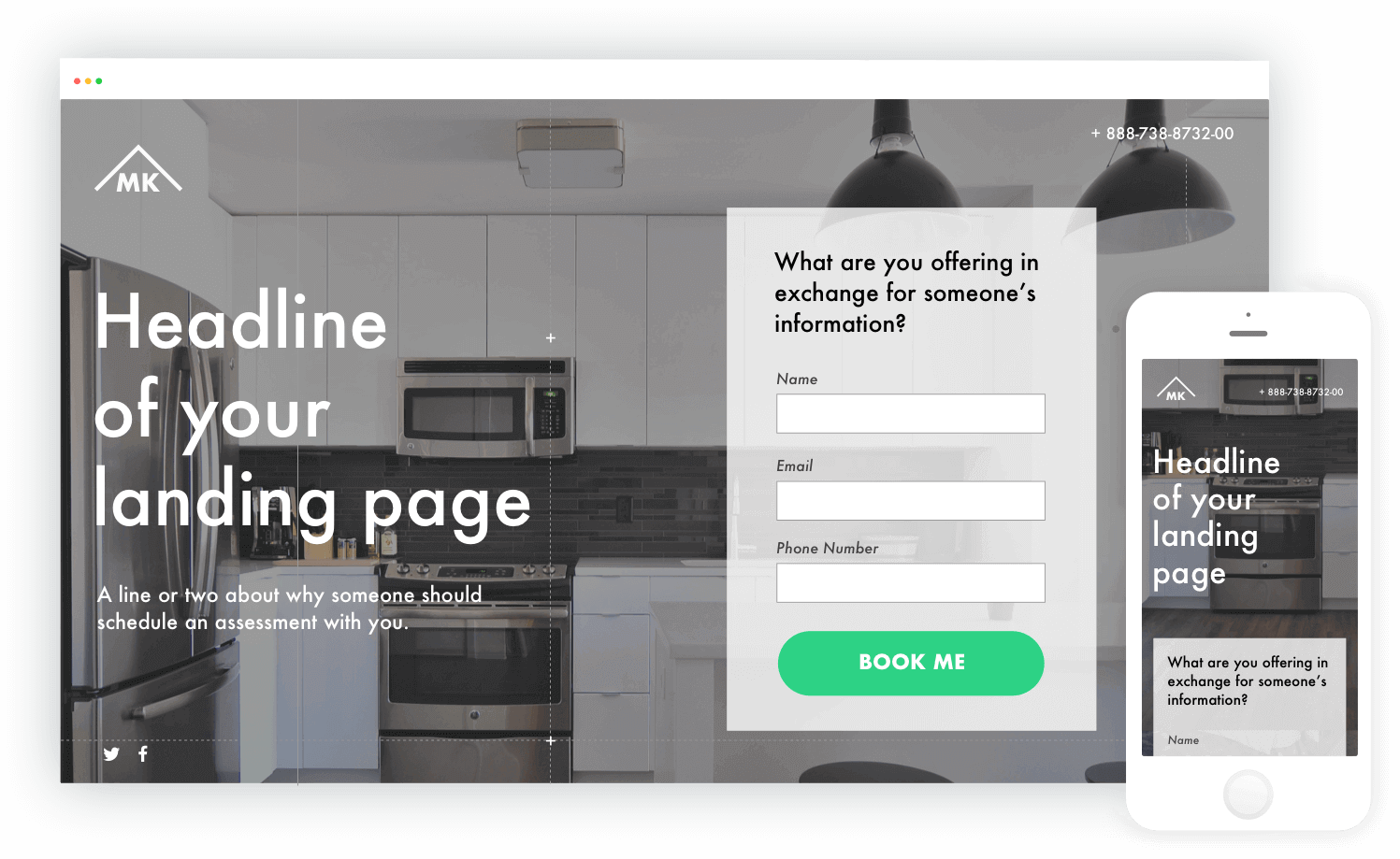 Landing Pages Create A Dedicated Page For Your Campaign