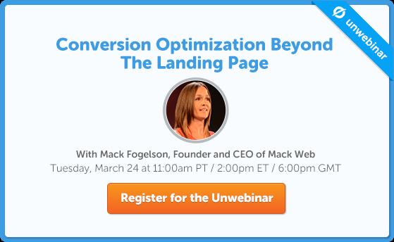 Conversion Optimization Beyond The Landing Page