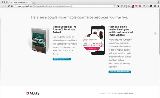 mobify-landing-page