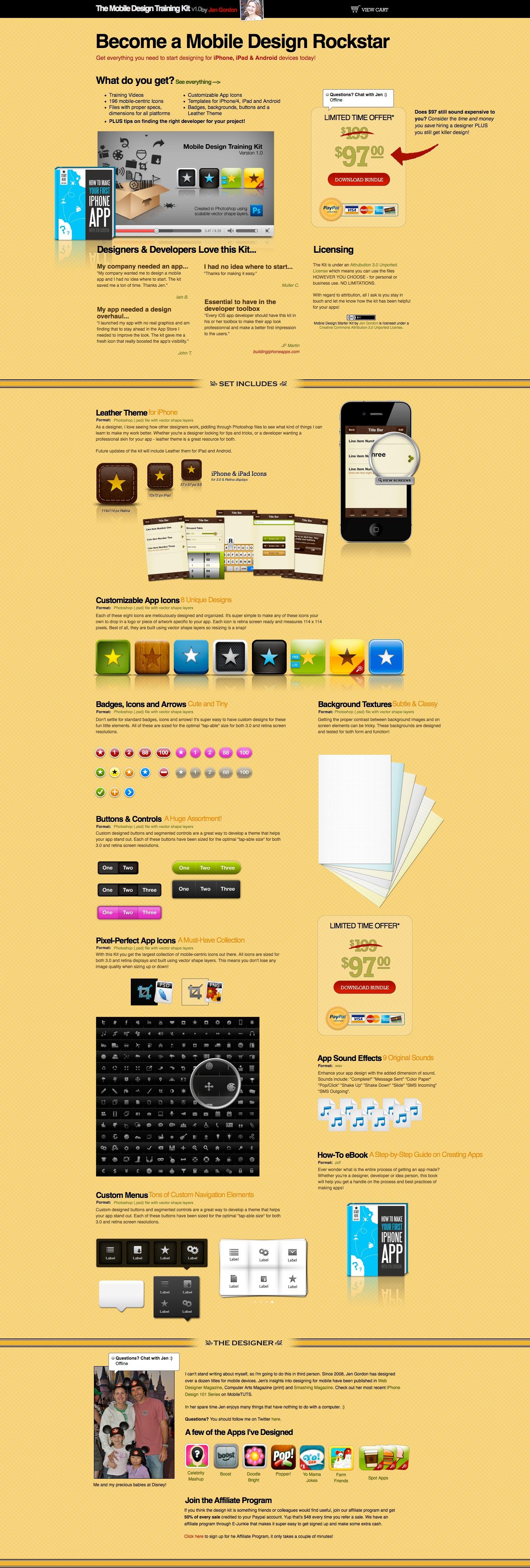 22 creative landing page designs a showcase critique for Remodel plans