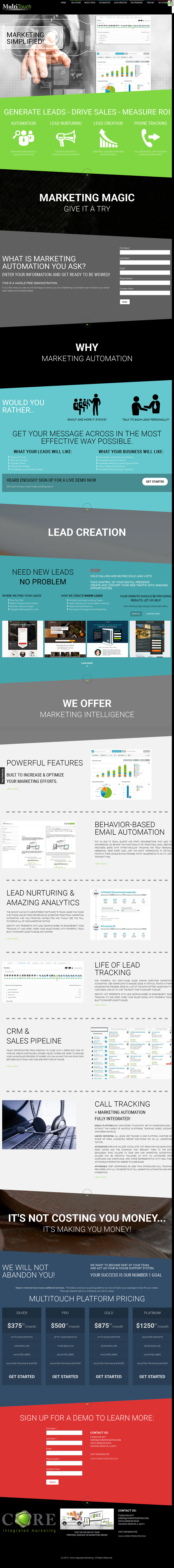 9 Landing Pages That Pissed Me Off And What Id Do To Fix Them Think I Him Pics 1 Multitouch