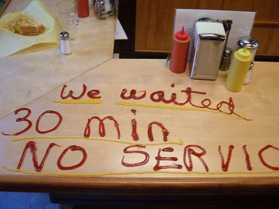 Page Speed - We Waited, No Service