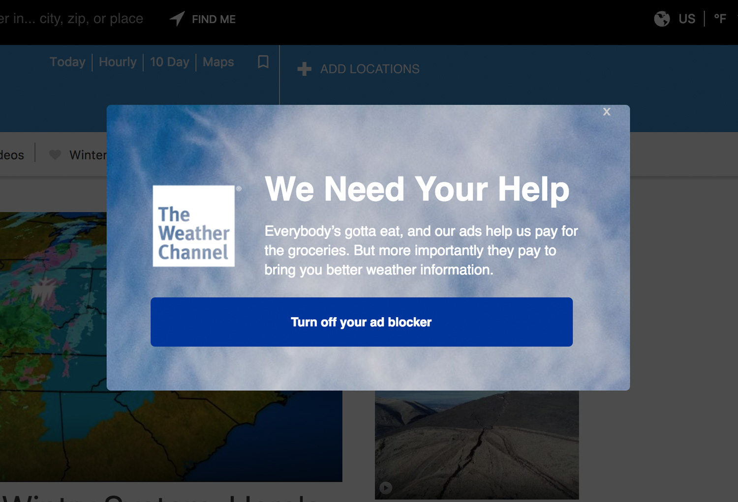 6 Really Bad Website Popup Examples