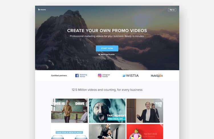 High-Converting Landing Page: Promo