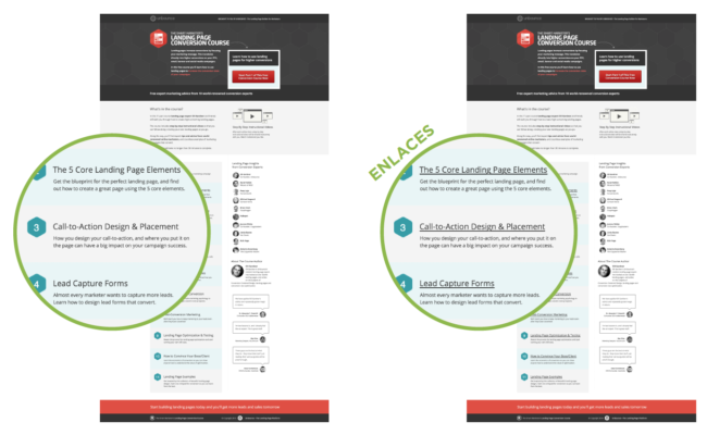 curso landing pages