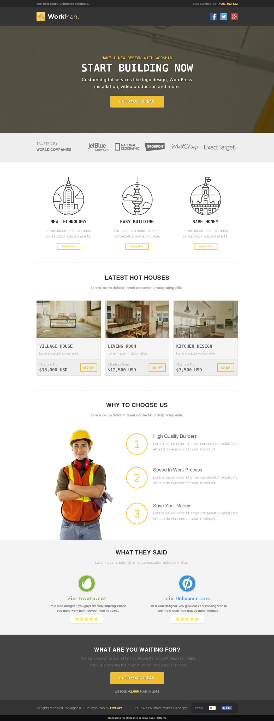 Real Estate Landing Page Templates For Your Appraisal - Buy landing page template