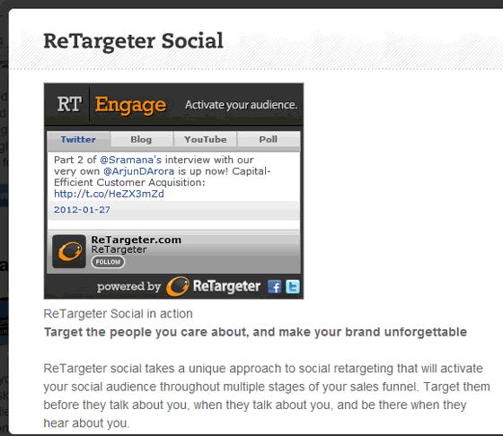 ReTargeter Pay Per Click Retargeting