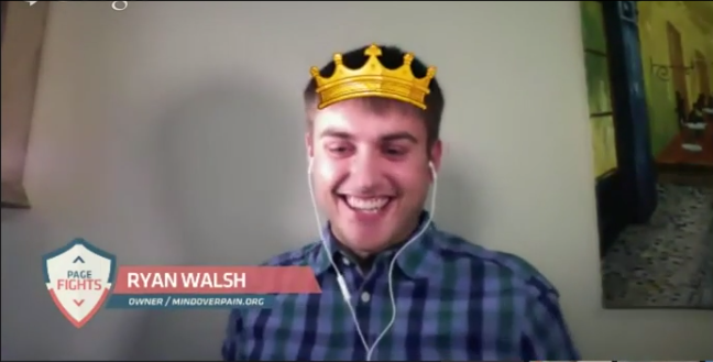 Ryan Walsh - Page Fights Champion