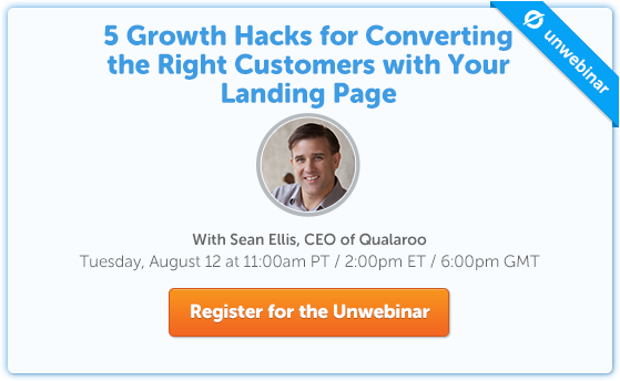 5 Growth Hacks For Converting The Right Customers With Your Landing Page