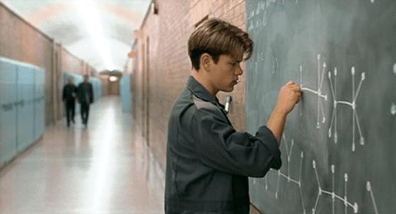 Matt Damon unintentionally sharing his knowledge