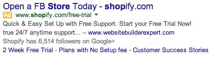 shopify-keyword