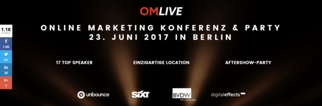 Online Marketing Konferenz Berlin Nils Kattau