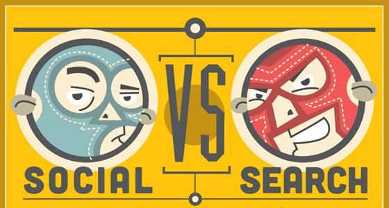 social vs search marketing