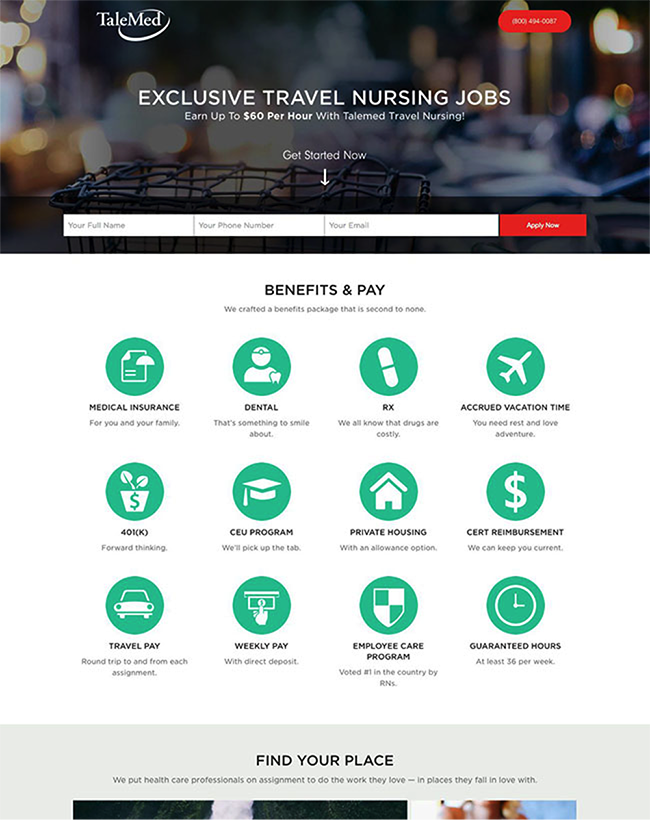 talemed-landing-page