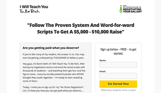 teach-you-to-be-rich-landing-page-copywriting-560