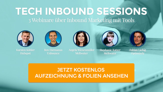 Tech Inbound Sessions 2016
