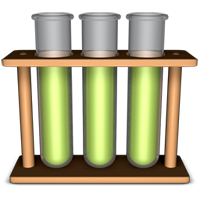 Which test tube has the magic elixir in it? A, B or C?