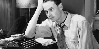 writer and typewriter