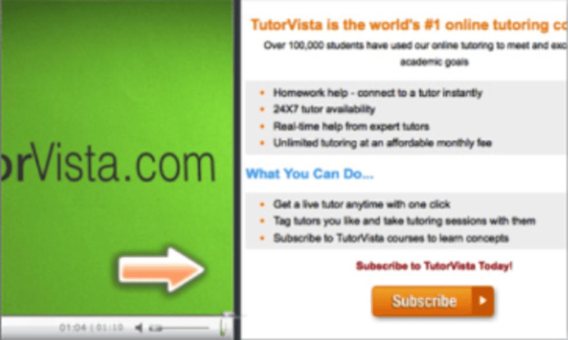TutorVista example