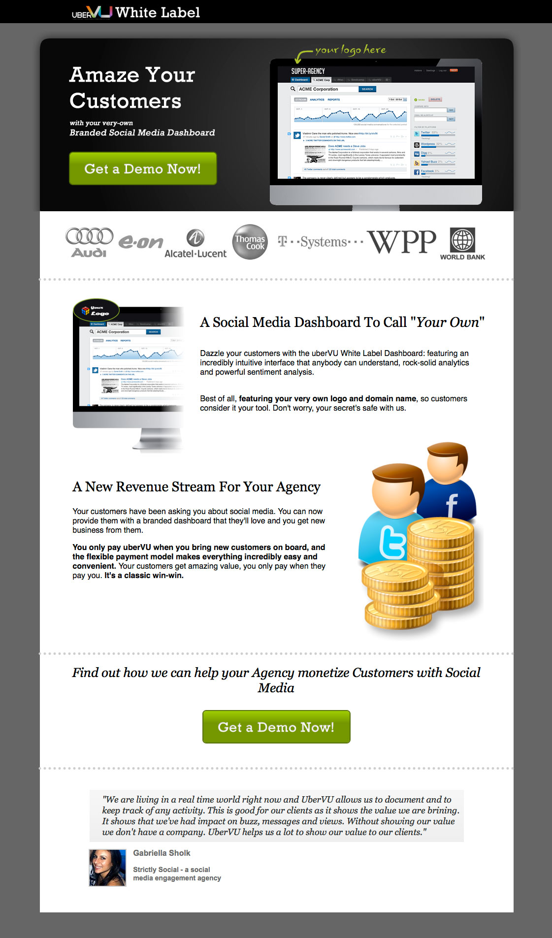 Landing page examples ebook sales page.