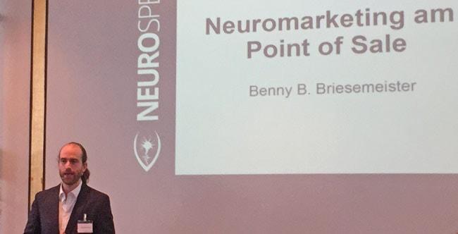Abschluss-Vortrag von Dr. Benny B. Briesemeister auf dem Berlin Neuromarketing Day 2016