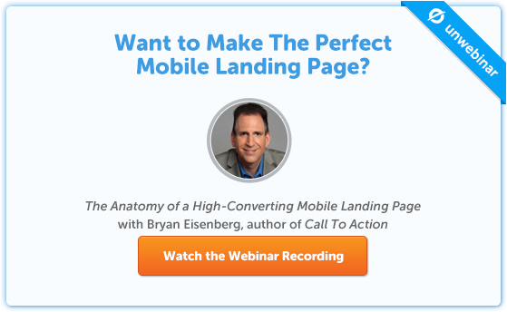 The Anatomy Of A High-Converting Mobile Landing Page