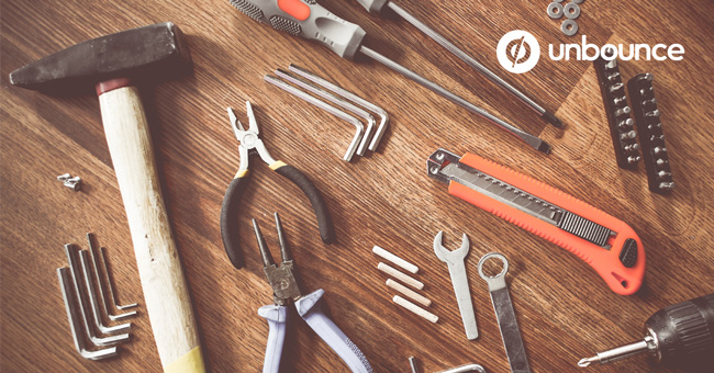 Unbounce: Content Marketing Tools
