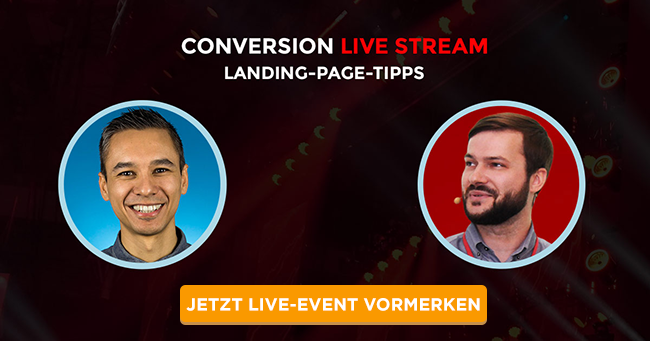 Conversion Livestream Nils Kattau und Ben Harmanus
