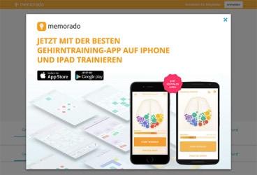 Unbounce: Start-Up Memorado im Landing Page Check
