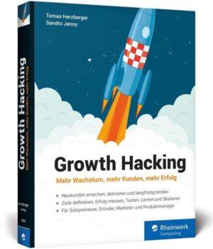 Das Growth-Hacking-Buch von Sandro Jenny und Tomas Herzberger